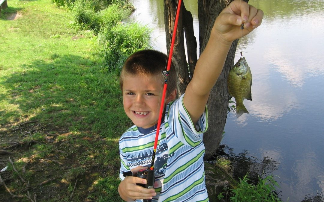 Use Live Bait and Take A Kid Fishing
